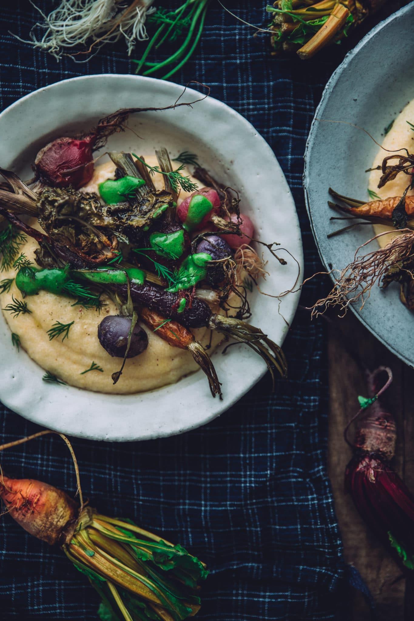 Légumes cuisinés hiver