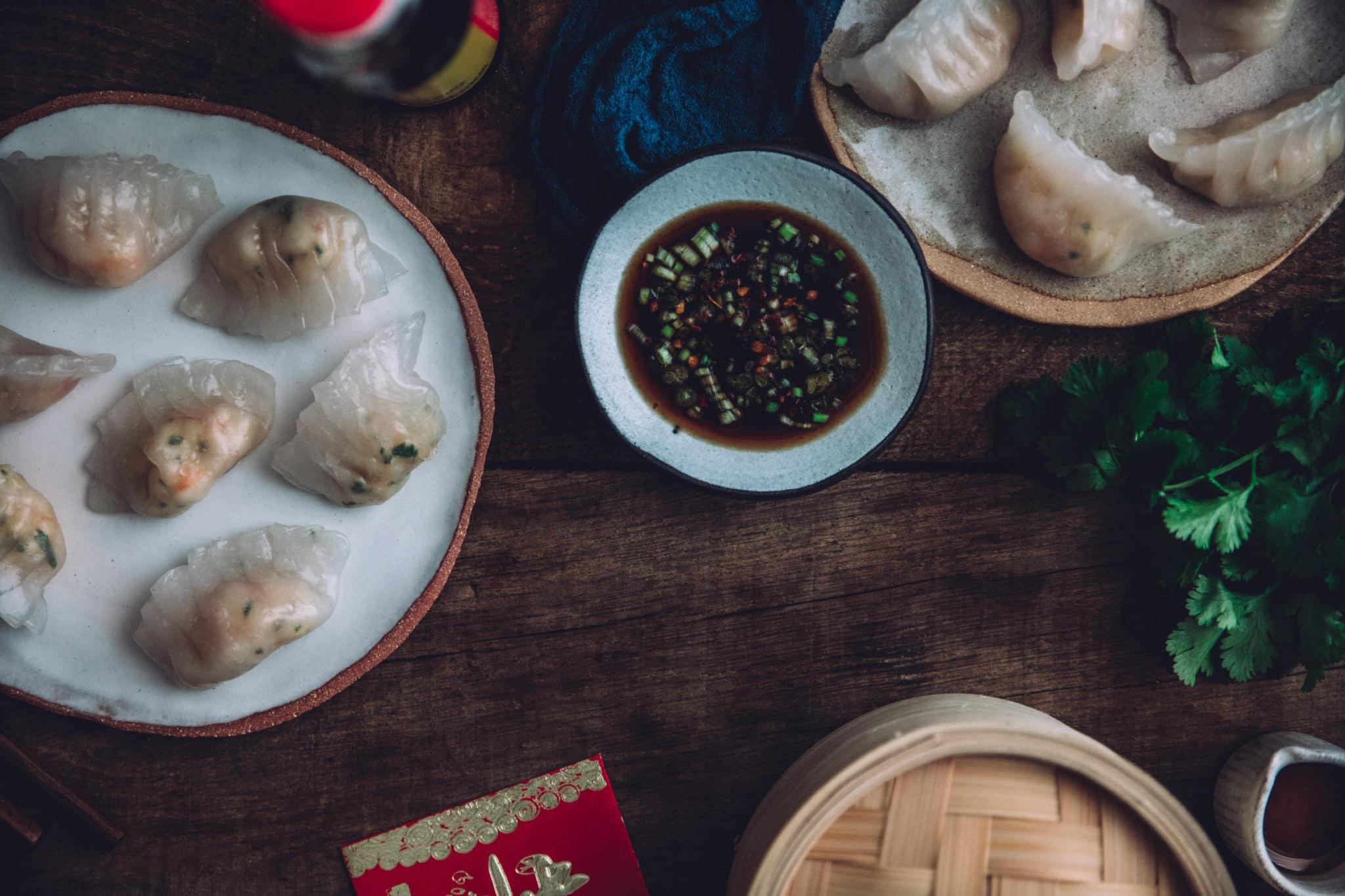 Har gao – dim sum aux crevettes à la hongkongaise