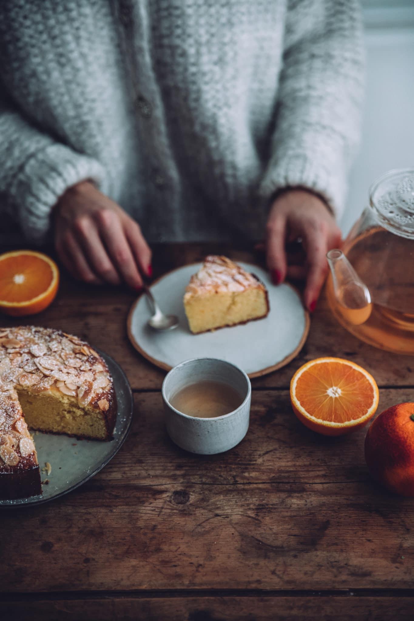 Gâteau moelleux amandes