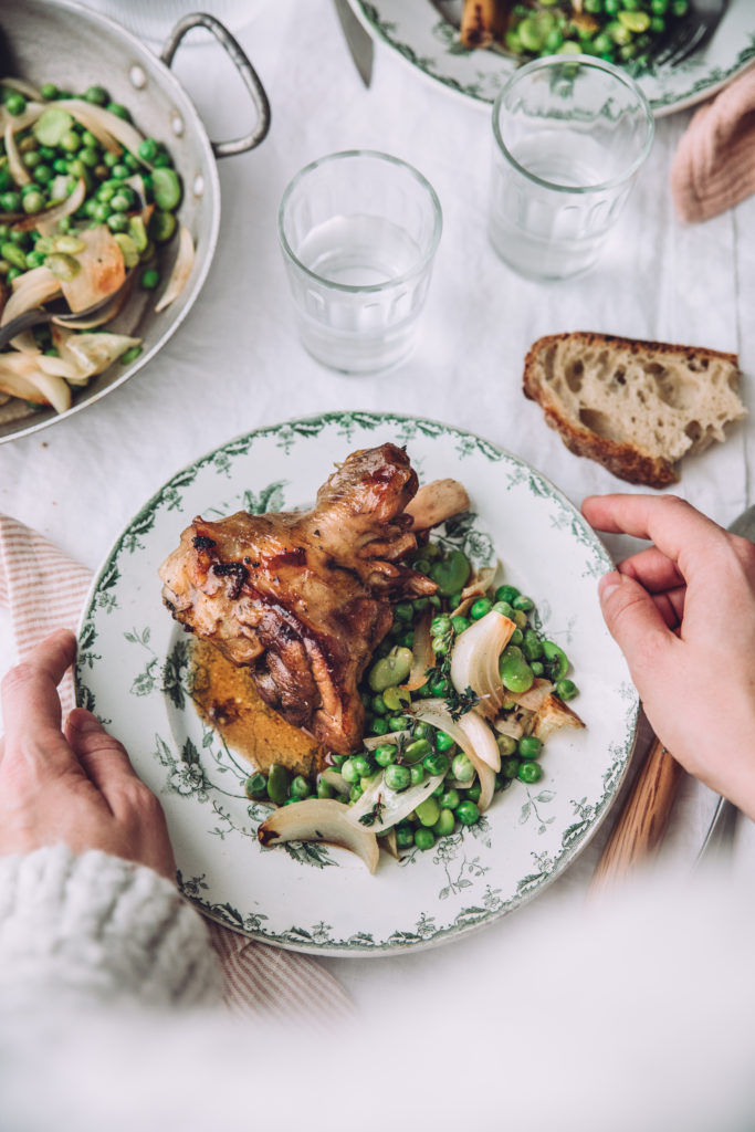 Agneau Pâques stylisme culinaire