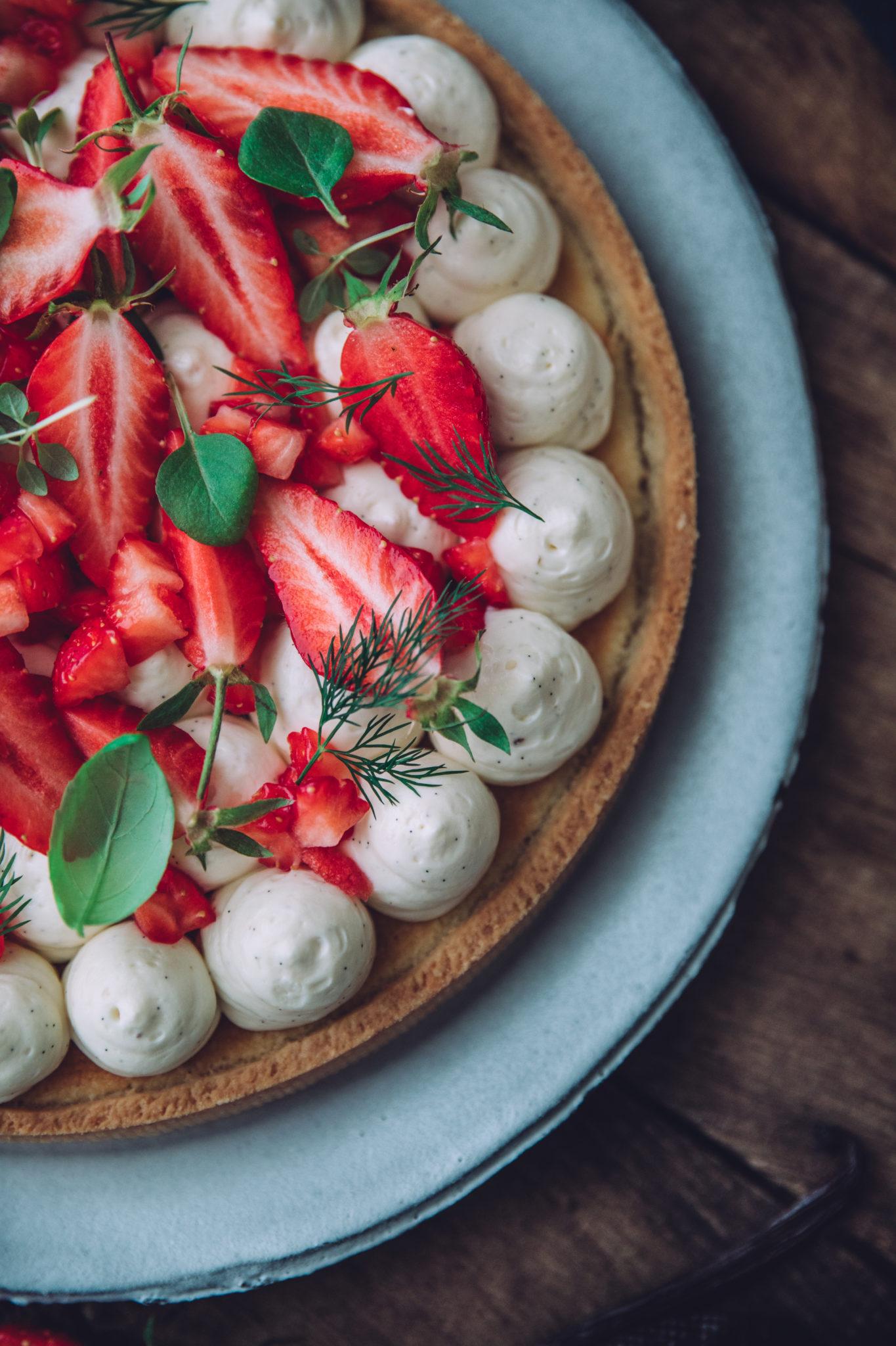 Tarte aux fraises recette