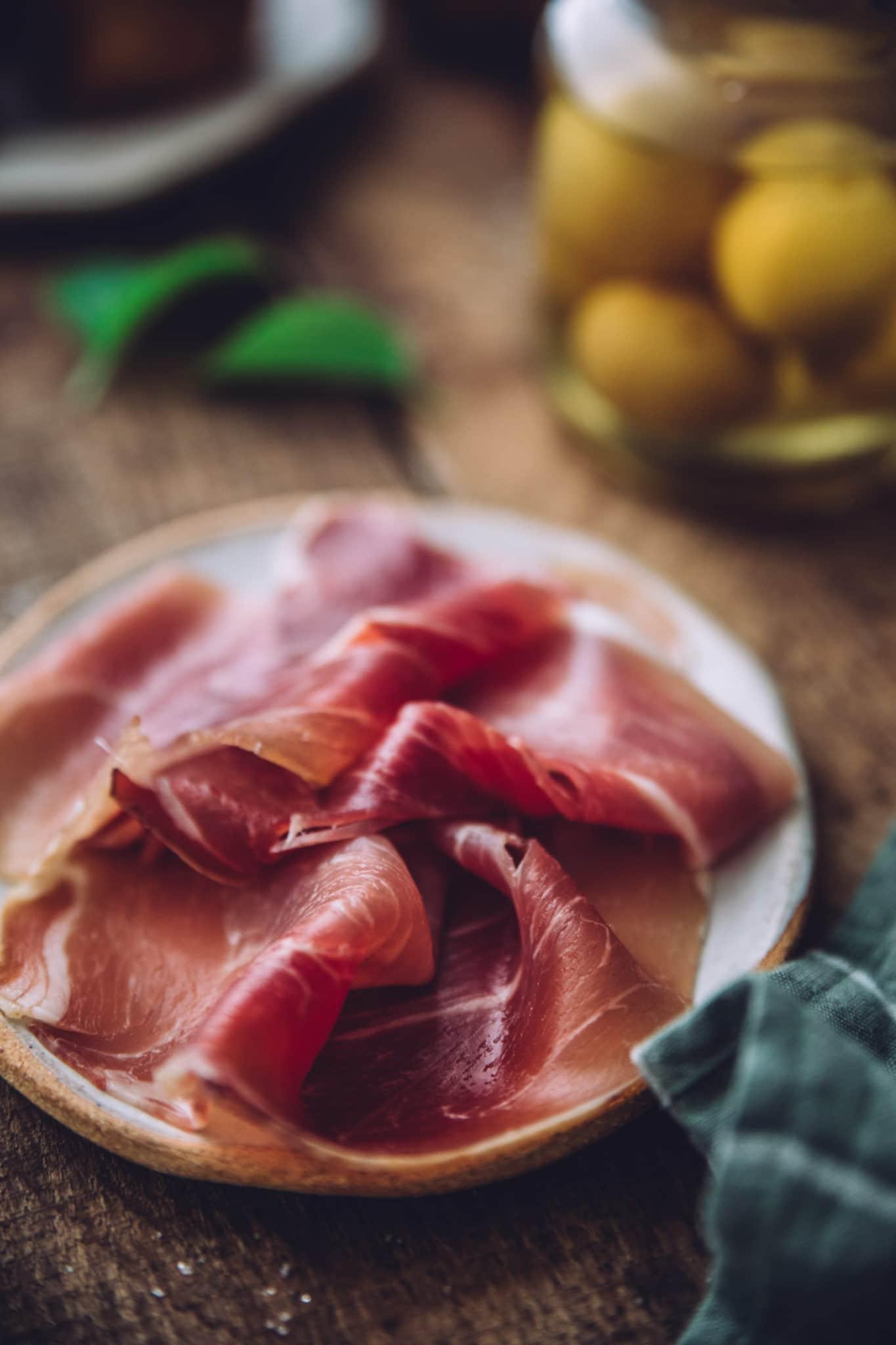 Jambon de savoie stylisme culinaire